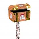 Piñata cofre del tesoro pirata