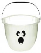 Cubo de fantasma fluorescente Halloween