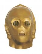 Máscara flexible C3PO™ adulto Star Wars™