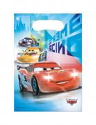 6 Bolsas de regalo plástico Cars hielo Ice Racers™