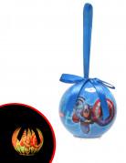 Bola de Navidad luminosa Los Vengadores™ 7,5 cm