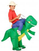 Disfraz de explorador con dinosaurio niño
