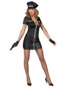 Disfraz policía sexy mujer negro