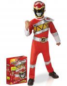 Disfraz Power Rangers rojo deluxe Dino Charge™ - Caja