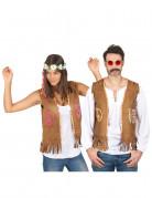 Disfraz de pareja chaleco hippie