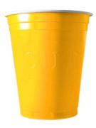 20 vasos 53cl amarillos