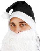 Gorro Papá Noel negro adulto