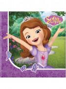 20 servilletas de papel 33x33cm Princesa Sofía hace una amiga™
