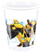 8 Vasos de plástico 200 ml Transformers RID™