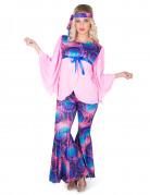 Disfraz disco bohemia mujer