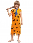 Disfraz prehistórico naranja niño