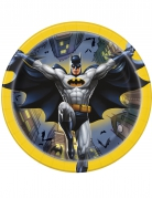 8 Platos pequeños de cartón Batman™ 18 cm