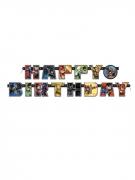 Guirlanda Happy Birthday Justice League™ 182 cm