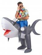 Disfraz tiburón inflable adulto