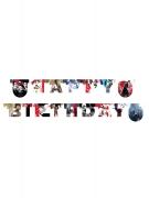 Guirnalda Happy Birthday Star Wars 8 The Lasta Jedi™ 2 m