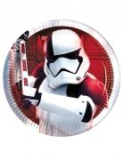 8 Platos pequeños Star Wars 8 The Last Jedi™ 20 cm