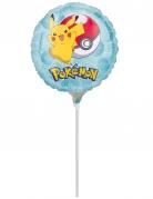 Mini globo aluminio con varita Pokemon™ 23 cm