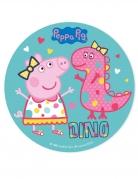 Disco de azúcar Peppa Pig™ 20 cm