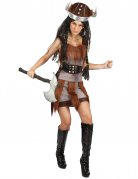 Disfraz vikingo para mujer