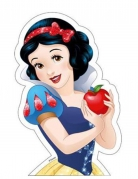 Oblea Princesas Disney™ Blancanieves 15.9 x 24.3 cm