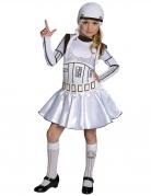 Disfraz Stormtrooper™ Star Wars™ niña