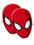 6 Caretas de cartón Spiderman™
