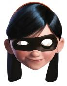 Máscara de cartón Violeta Los Increíbles ™ adulto
