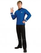 Camiseta de lujo azul Spock Star Trek™ hombre