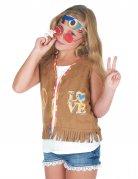 Disfraz chaqueta hippie niño