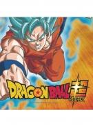 20 Servilletas de papel Dragon Ball Super™ 33 x 33 cm