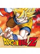 20 Servilletas de papel Dragon Ball Z™ 33 X 33 cm
