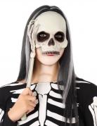 Máscara sobre palillo esqueleto adulto