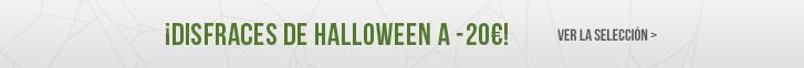 ¡Disfraces para Halloween a -20€!